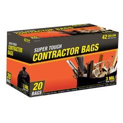 Super Tough Contractor Bags