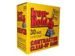 Iron-Hold 33-gal. Contactor Clean-Up Bags - 30 Count