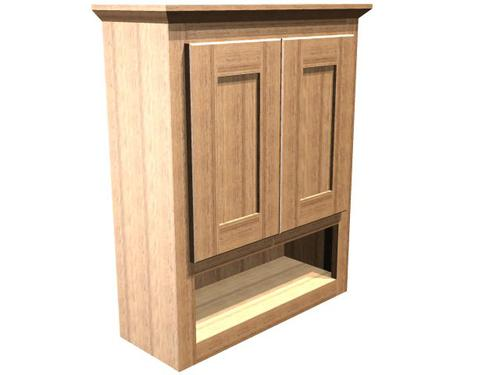 Briarwood 24 w x 30 h x 9 d centerpoint wall cabinet at menards - Menards bathroom wall cabinets ...