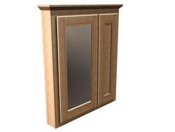 """Briarwood 30"""" W x 33"""" H x 4-1/4"""" D Centerpoint Medicine Cabinet (Mirror Left)"""