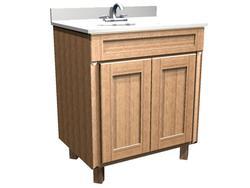 "Briarwood 30"" W x 18"" D x 31"" H Centerpoint Vanity Sink"