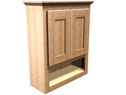 "Briarwood 24"" W x 30"" H x 9"" D Centerpoint Wall Cabinet"