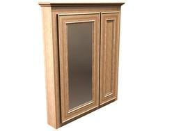 "Briarwood 30"" W x 33"" H x 4-1/4"" D Highland Medicine Cabinet (Mirror Left)"