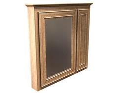 "Briarwood 36"" W x 33"" H x 4-1/4"" D Highland Medicine Cabinet (Mirror Left)"