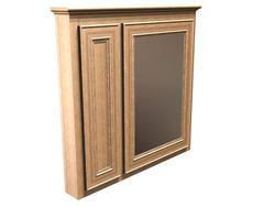 "Briarwood 36"" W x 33"" H x 4-1/4"" D Highland Medicine Cabinet (Mirror Right)"