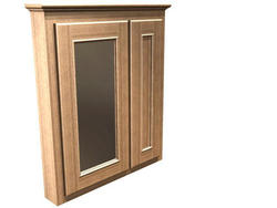 "Briarwood 30"" W x 33"" H x 4-1/4"" D Woodland Medicine Cabinet (Mirror Left)"