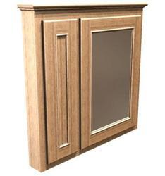 "Briarwood 30"" W x 33"" H x 4-1/4"" D Woodland Medicine Cabinet (Mirror Right)"