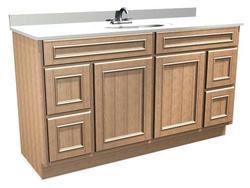 "Briarwood 60"" W x 18"" D x 31"" H Woodland Vanity Sink Drawers (Right and Left)"