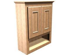 "Briarwood 24"" W x 30"" H x 9"" D Woodland Wall Cabinet"