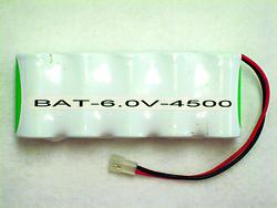Best Lighting 6.0-Volt 4500 mAH Nicd Battery