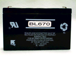 Best Lighting 6-Volt 7Ah Lead Acid Battery