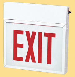 Smart Electrician Chicago Approved EXIT Light w/Battery Backup