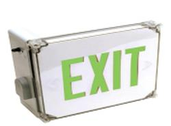 Best Lighting Indoor or Outdoor Wet Location EXIT Sign with Battery Backup