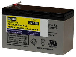 Best Lighting 12-Volt 7.5Ah Lead Acid Battery
