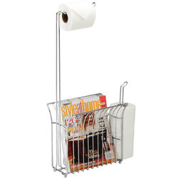 Toilet Mate Chrome Wire Toilet Caddy