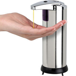 225 ml Small Stainless Steel Touchless Dispenser
