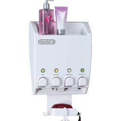 Ulti-Mate Dispenser IV Shower Caddy (White)