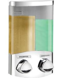 DUO Chrome Dispenser w/Chrome Buttons