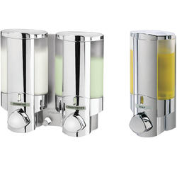 AVIVA Dispenser 2 & 1 Chrome - Bundle