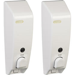 Classic Dispenser 1 White Bundle