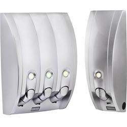 Curve Dispenser 3 & 1 Silver Gloss Bundle