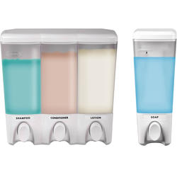 Clear Choice Dispenser 3 & 1 White Bundle