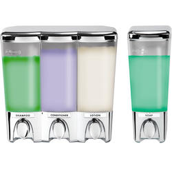 Clear Choice Dispenser 3 & 1 Chrome Bundle