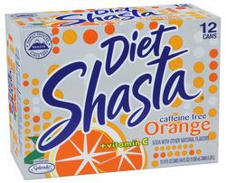 Shasta Diet Orange