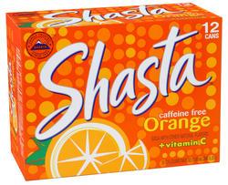 Shasta Orange Soda