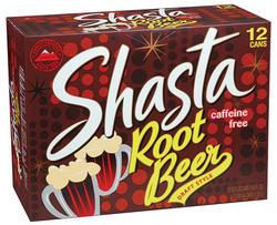 Shasta Root Beer Soda