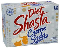 Shasta Diet Creme