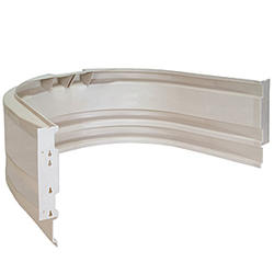 "Bilco StakWEL&reg, 54"" Wide Polyethylene Modular Window Well"
