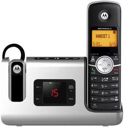 Motorola DECT 6.0 Cordless Phone with Wireless Headset