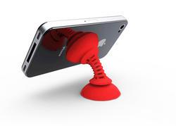 Simple Sucker Flexible Phone Mount