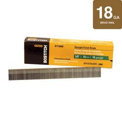 "Bostitch® 5/8"" Brown 18-Gauge  Brad Nail - 3,000 ct."