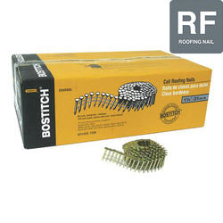 """Bostitch® 1-1/4"""" x .120 15° Electro-Galvanized Coil Roofing Nails - 7,200 ct."""
