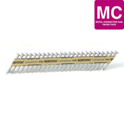 """Bostitch® 1-1/2"""" x .131 35° Paper Tape Smooth Shank Heat-Treated Metal Connector Nail - 1,000 ct."""