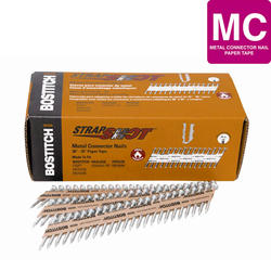 """Bostitch® 1-1/2"""" x .131 35° Paper Tape Smooth Shank HDG Metal Connector Nail - 3,000 ct."""