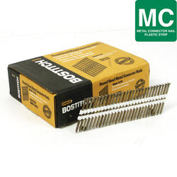 "Bostitch® 2-1/2"" x .148 35° Paper Tape Smooth Shank Heat-Treated Metal Connector Nails - 2,016 ct."