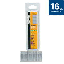"Bostitch® 1-1/2"" 16-Gauge Straight Finish Nails - 1,000 ct."