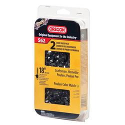 "OREGON® 18"" S62T Low-Profile Chain (2-Pack)"