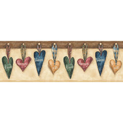 Hanging Hearts Border