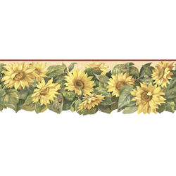 Sunflower Diecut Border