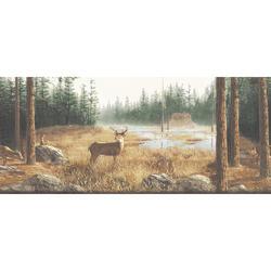 Deer Cabin Border