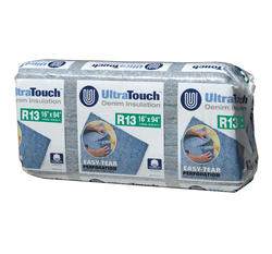 "UltraTouch 16"" x 94"" R-13 Denim Insulation - Covers 84.88 Sq. Ft."