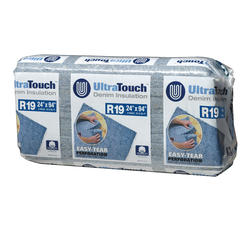 """UltraTouch 24"""" x 94"""" R-19 Denim Insulation - Covers 79.15 Sq. Ft."""