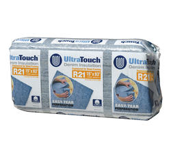 "UltraTouch 15"" x 93"" R-21 Denim Insulation - Covers 48.45 Sq. Ft."