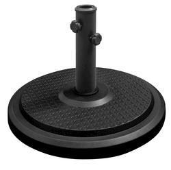 Backyard Creations™ Polycrete Black Umbrella Base