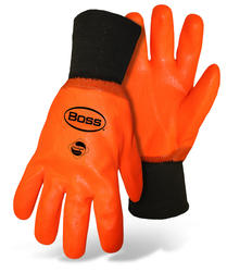 Lined PVC Thermal Gloves