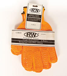 PVC-Coated Knit Gloves (3 Pairs)